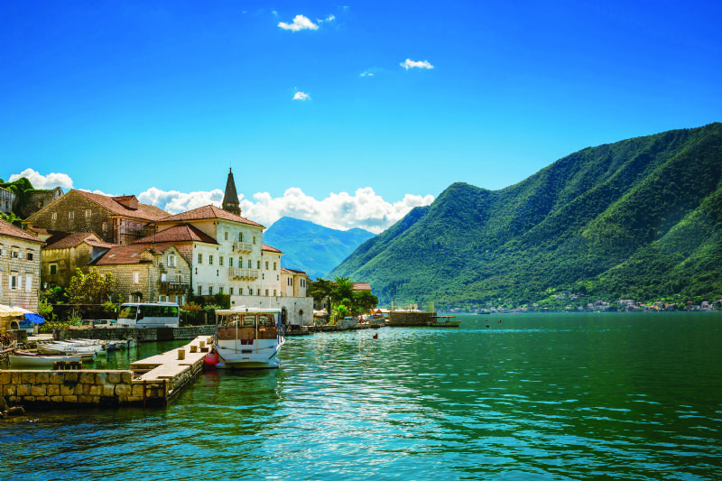Italy and the stones of Montenegro