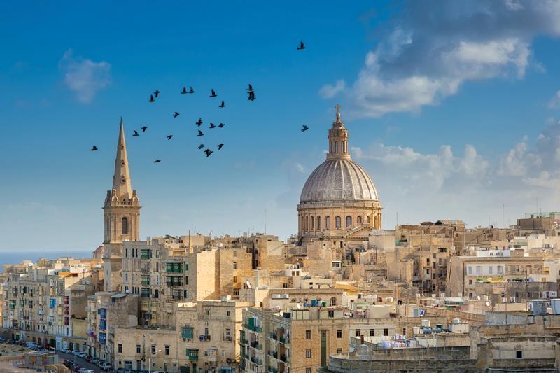 France, Italy & Malta