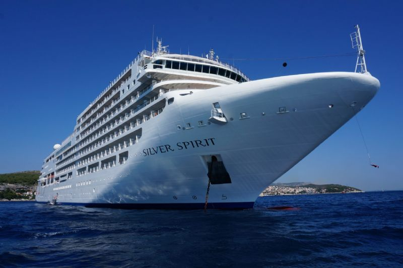 Silversea's Silver Spirit Undergoes Ambitious Lengthening Project