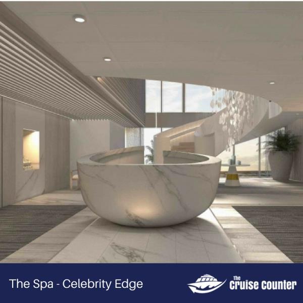 celebrity edge spa