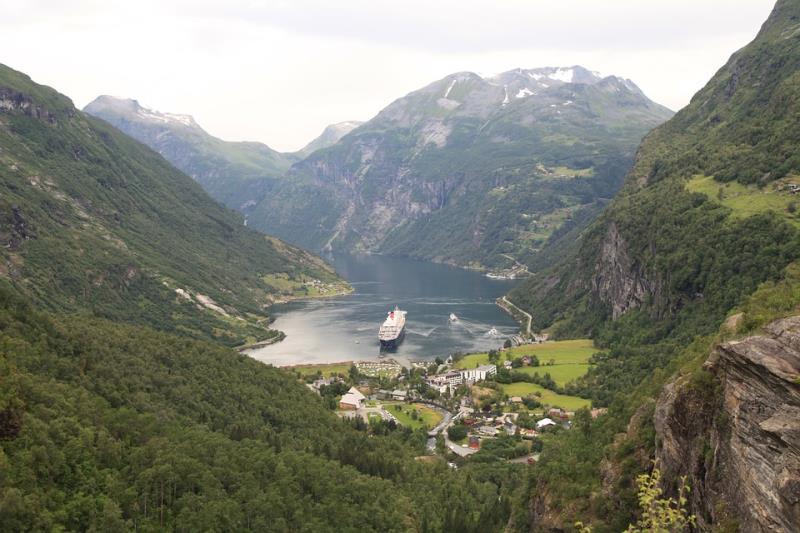 Sail From Dublin - Norwegian Fjords