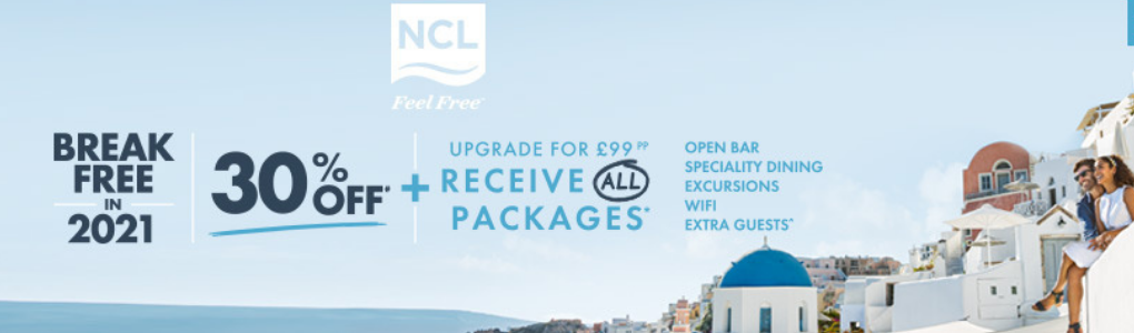 NCL Sale Now On